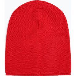 Marie Lund - Damska czapka z czystego kaszmiru, czerwony. Czerwone czapki damskie Marie Lund, z kaszmiru. Za 229,95 zł.