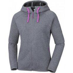 Columbia Bluza Damska Pacific Point Full Zip Hoodie Grey Ash L. Szare bluzy polarowe marki Columbia. W wyprzedaży za 259,00 zł.
