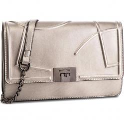 Torebka MONNARI - BAGB740-022 Silver. Brązowe torebki klasyczne damskie marki Monnari, w paski, z materiału, średnie. W wyprzedaży za 169,00 zł.