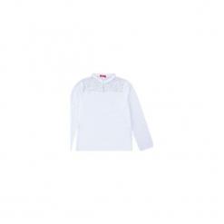 Bluzka tkanina ze stójką z koronką. Szare bluzki damskie TXM, w koronkowe wzory, z koronki, ze stójką. Za 24,99 zł.