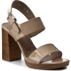 Rzymianki damskie: Sandały ANN MEX – 8137 03LR Beż