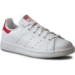 Buty adidas - Stan Smith M20326 Runwht/Runwht/Colred. Białe buty do tenisa męskie Adidas, w paski, z gumy, adidas stan smith. W wyprzedaży za 279,00 zł.