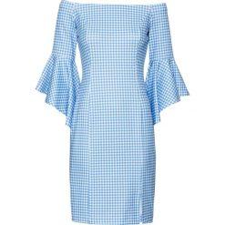 Sukienki: Sukienka bonprix niebiesko-biały