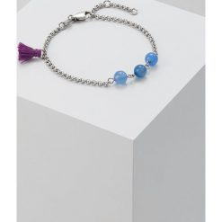 Bransoletki damskie na nogę: Dyrberg/Kern CALISTA Bransoletka blue agate