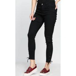 Spodnie damskie: Czarne Spodnie Combative