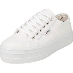 Victoria Basket Lona Plataforma Buty sportowe biały. Białe buty sportowe damskie marki Victoria. Za 121,90 zł.