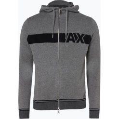 Armani Exchange - Kardigan męski, szary. Czarne swetry rozpinane męskie marki Reserved, m, z kapturem. Za 649,95 zł.