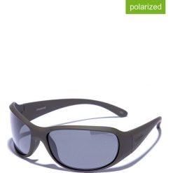 Okulary przeciwsłoneczne męskie lustrzane: Okulary męskie w kolorze oliwkowo-czarnym