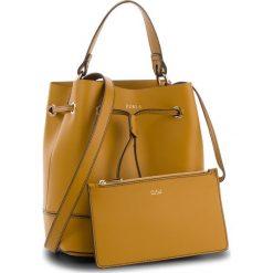 Torebka FURLA - Stacy 985954 B BJQ3 FLE Ginestra e. Żółte torebki worki Furla, ze skóry. Za 1355,00 zł.