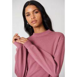 NA-KD Basic Bluza basic - Pink. Różowe bluzy rozpinane damskie NA-KD Basic, z bawełny. Za 100,95 zł.