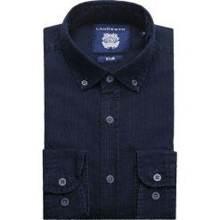 Koszula Jeansowa Granatowa Baywiew. Niebieskie koszule męskie jeansowe marki LANCERTO, m. W wyprzedaży za 199,90 zł.