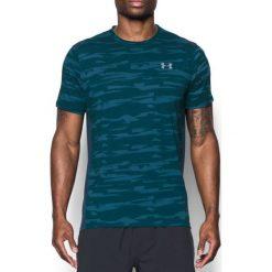 Under Armour Koszulka męska Threadborne Run Mesh SS niebieska r. M (1298851-953). Szare koszulki sportowe męskie marki Under Armour, z elastanu, sportowe. Za 117,75 zł.