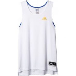 Adidas Koszulka męska Commander biała r. XL. Białe koszulki sportowe męskie marki Adidas, m. Za 93,26 zł.