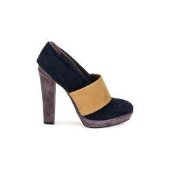 Czółenka Kallisté  BOTTINE 5854. Czarne buty ślubne damskie Kallisté. Za 839,30 zł.
