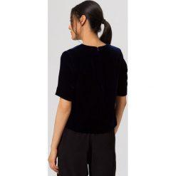 T-shirty damskie: IVY & OAK BOXY  Tshirt z nadrukiem navy blue