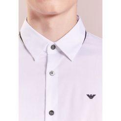 Koszule męskie na spinki: Emporio Armani Koszula biznesowa bianco ottico
