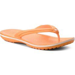 Chodaki damskie: Japonki CROCS – Crocband Flip 11033 Blazing Orange/White