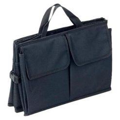 Organizer samochodowy - (S)56 x (W)39 x (G)26,5 cm. Niebieskie torebki klasyczne damskie Jocca, z materiału. W wyprzedaży za 39,95 zł.