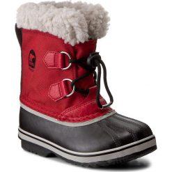 Kozaki dziewczęce: Śniegowce SOREL – Childrens Yoot Pac Nylon NC1879 Rocket/Nocturnal 675