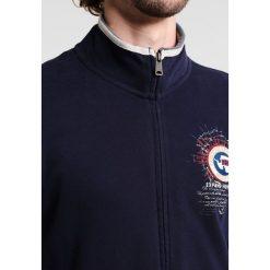 Napapijri BOCHIL Bluza rozpinana blu marine. Szare bluzy męskie rozpinane marki Napapijri, l, z materiału, z kapturem. Za 419,00 zł.