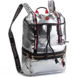 Plecak TOMMY HILFIGER - Th Explorer Backpack AW0AW05849  907. Szare plecaki męskie TOMMY HILFIGER, ze skóry ekologicznej. Za 599,00 zł.