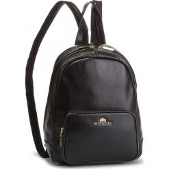 Plecak WITTCHEN - 86-4E-369-1 Czarny. Czarne plecaki damskie Wittchen, ze skóry. Za 659,00 zł.