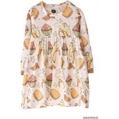 Sukienki dziewczęce: Sukienka Bananas and Cupcake