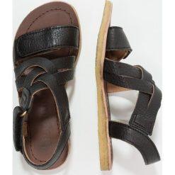 Bisgaard Sandały black. Czarne sandały chłopięce Bisgaard, z materiału. Za 339,00 zł.