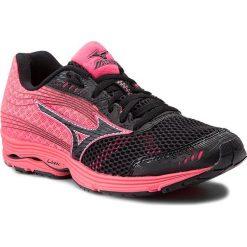 Buty sportowe damskie: Buty MIZUNO – Wave Sayonara 3 J1GD153009 Czarny Różowy