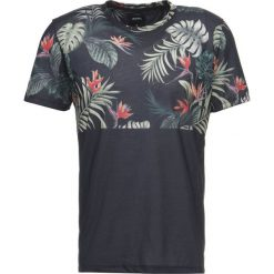 T-shirty męskie z nadrukiem: Burton Menswear London FLORAL SPLICE  Tshirt z nadrukiem black