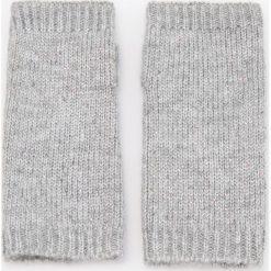 Rękawiczki bez palców - Jasny szar. Brązowe rękawiczki damskie marki Roeckl. Za 29,99 zł.