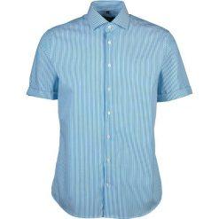 Koszule męskie na spinki: Koszula – Tailored – w kolorze niebiesko-białym