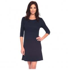 La Belle Parisienne Sukienka Damska Julia L Ciemny Niebieski. Czarne sukienki z falbanami marki Fille Du Couturier. Za 125,00 zł.