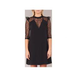 Sukienki krótkie Morgan  ROMILA. Sukienki małe czarne marki Morgan, z krótkim rękawem. Za 230,30 zł.
