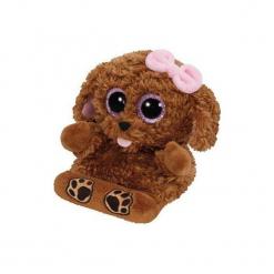 Maskotka TY INC Peek a Boos Pups pies 14cm 00005. Brązowe przytulanki i maskotki marki TY INC, z materiału. Za 19,99 zł.