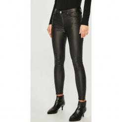 Answear - Jeansy. Czarne jeansy damskie ANSWEAR, z bawełny. Za 119,90 zł.