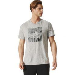 Adidas Koszulka męska ID Flash Tee szara r. XL (BR4053). Białe t-shirty męskie marki Adidas, l, z jersey, do piłki nożnej. Za 119,27 zł.