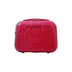 Kosmetyczki damskie: Kosmetyczka w kolorze różowym – (S)28 x (W)35 x (G)17 cm