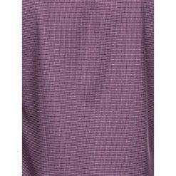 KOSZULA MĘSKA Z DŁUGIM RĘKAWEM K410 - FIOLETOWA. Brązowe koszule męskie marki Ombre Clothing, m, z aplikacjami, z kontrastowym kołnierzykiem, z długim rękawem. Za 49,00 zł.