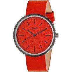"""Zegarki męskie: Zegarek kwarcowy """"the 3000"""" w kolorze czerwono-antracytowym"""