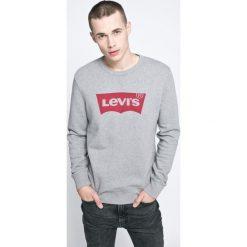 Levi's - Bluza. Brązowe bluzy męskie rozpinane Levi's®, m, z nadrukiem, z bawełny, bez kaptura. Za 219,90 zł.