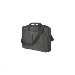 "Torba do laptopa Trust Primo Carry Bag do 16"". Czarne torby na laptopa TRUST, w paski. Za 60,00 zł."