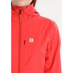 8848 Altitude REJA JACKET Kurtka Softshell poppy. Czerwone kurtki damskie softshell 8848 Altitude, z materiału. W wyprzedaży za 412,30 zł.