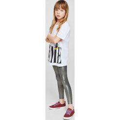 Legginsy dziewczęce: Mango Kids – Legginsy dziecięce Electric 110-164 cm