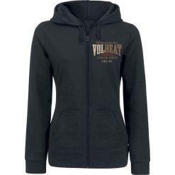 Volbeat Louder And Faster Bluza z kapturem rozpinana damska czarny. Czarne bluzy rozpinane damskie marki Volbeat, m, z kapturem. Za 184,90 zł.