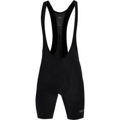 Gore Wear Krótkie spodenki sportowe black. Czarne bermudy męskie Gore Wear, z elastanu, sportowe. W wyprzedaży za 356,30 zł.