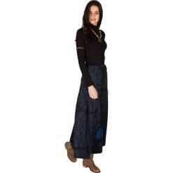 Odzież damska: Spódnica w kolorze czarno-niebieskim