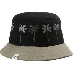 Herschel LAKE YOUTH Kapelusz black palm shadow. Brązowe kapelusze damskie Herschel, z bawełny. Za 159,00 zł.