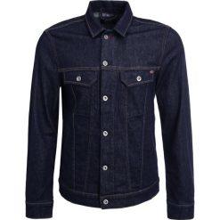 Mustang NEW YORK  Kurtka jeansowa raw. Czarne kurtki męskie jeansowe marki Mustang, l, z kapturem. Za 379,00 zł.