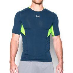 Under Armour Koszulka męska CoolSwitch Short Sleeve granatowo-zielona r. XL (1271334997). Niebieskie t-shirty męskie marki Under Armour, m. Za 127,97 zł.